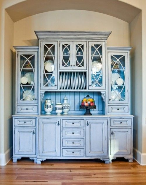 104 best China Cabinets images on Pinterest | Painted hutch ...
