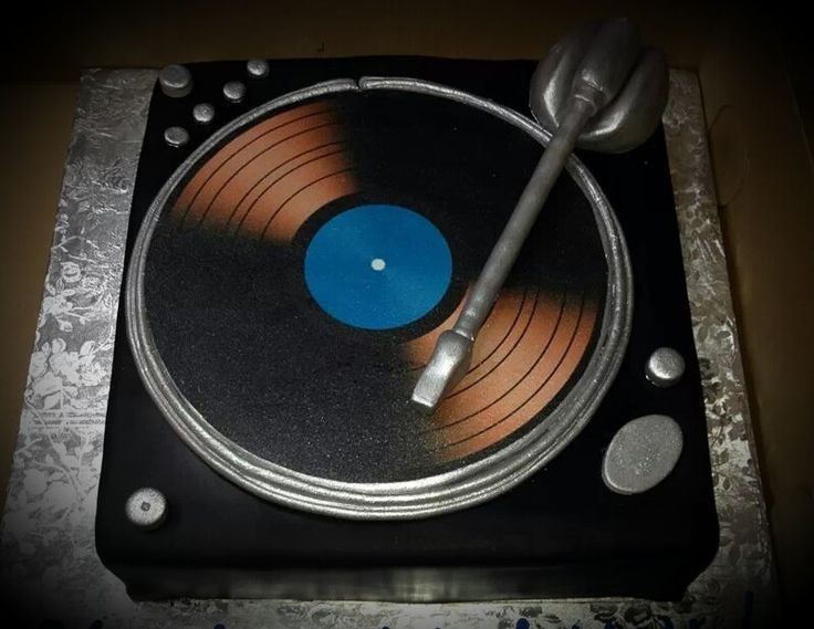 Record Player Cake Cakes Pinterest Wedding Groom