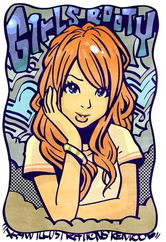 GIRL M by KENTOO-JPN on DeviantArt