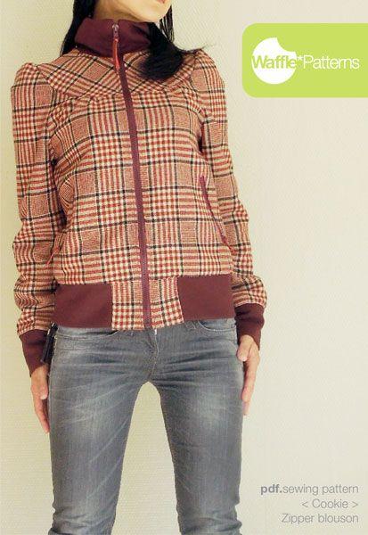 1141 besten Clothing patterns Bilder auf Pinterest | Näharbeiten ...