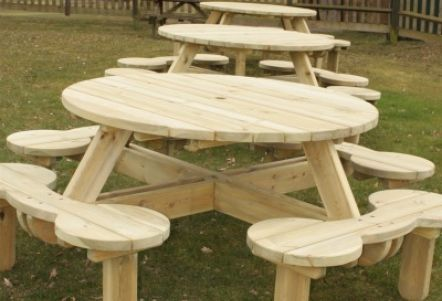 Woodwork Traditional Picnic Table Plans PDF Plans                                                                                                                                                                                 More