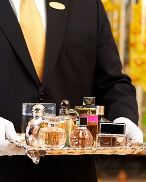 fragrance butler...now that is a vacation
