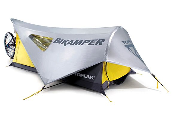 Thing #4 - tent - weight 1.5kg  http://www.topeak.com/products/Tent/Bikamper