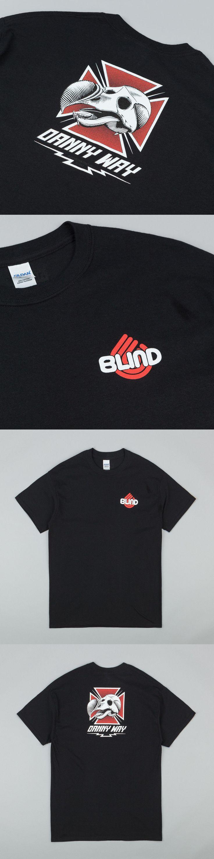 Men 159067: Dear Skating Danny Way Blind Dodo Black T-Shirt Medium Tony Hawk Powell Rocco -> BUY IT NOW ONLY: $60 on eBay!