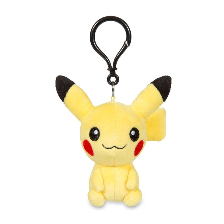 Now you can decorate your backpack or purse with this Pikachu Secret Base Poké Doll keychain! It's a rounder, soft style, just like the Poké…