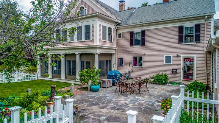 Open House Sunday, September 24th from 1 to 2:30 … the Patriots game will be on! This stately Greek Revival home is the ideal blend of historic features and modern updates. Meticulously resto…