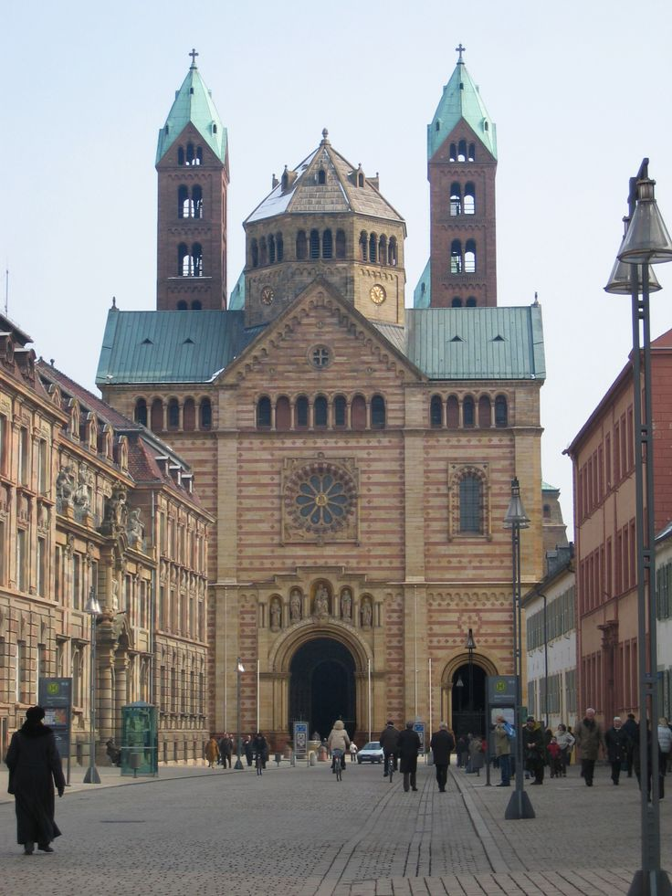 Speyer, Germany - Dom (entrance, Westwork)