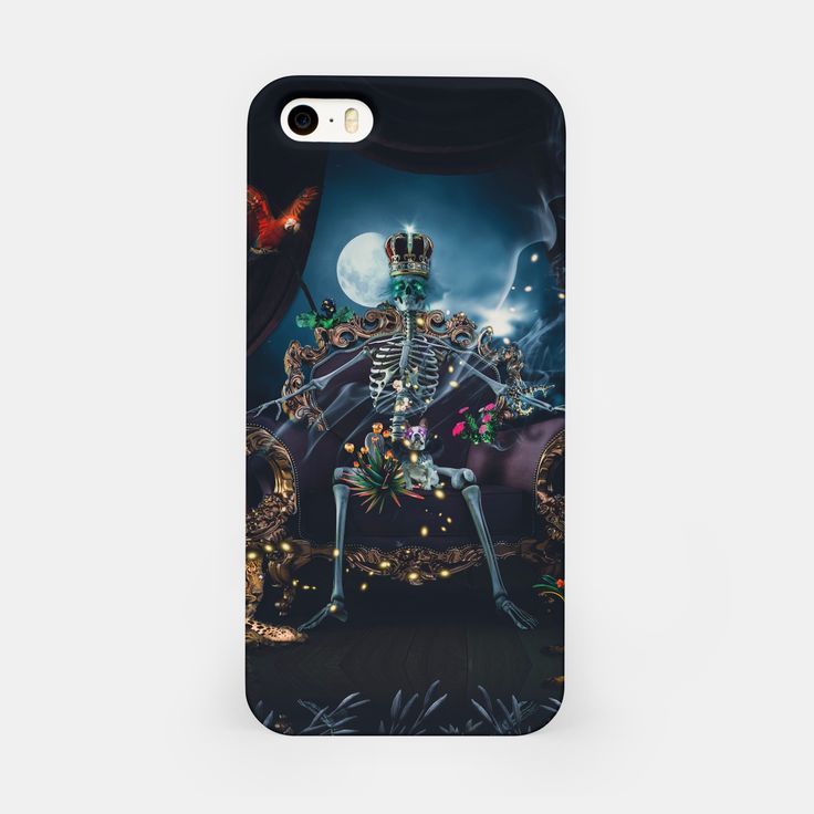 King Snakecharmer iPhone Case, Live Heroes