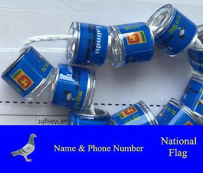 Other Bird Supplies 3211: 100Pcs 7/8/9Mm Customized Bands For Racing Pigeon Birds Leg Rings With Pictures -> BUY IT NOW ONLY: $37.74 on eBay!