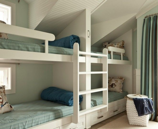 Bedroom:Chic Ikea Bunk Beds Vogue Other Metro Beach Style Bedroom  Inspiration With Bed Storage