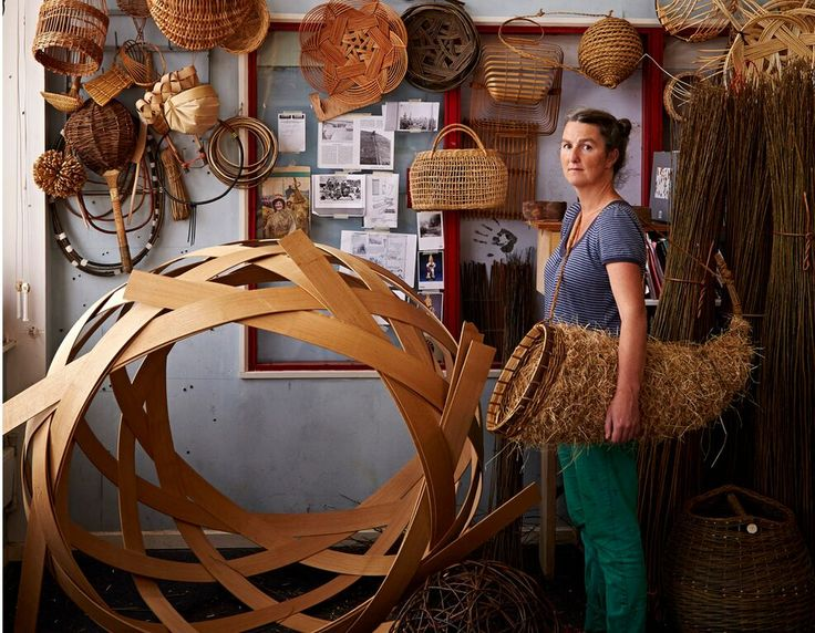 Annemarie O'Sullivan makes a range of baskets and woven objects, which are a response to the materials she hand gathers from the land. She grows around twenty different types of willow and often combines these with coppiced wood. She is passionate about seeing the making process through from the source to the finished piece – ensuring her feet stay on the earth. See her work on www.guildtrip.com. Coming November 2015.