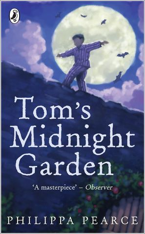 Tom's Midnight Garden - entered through the grandfather clock . . . but only when it strikes 13!