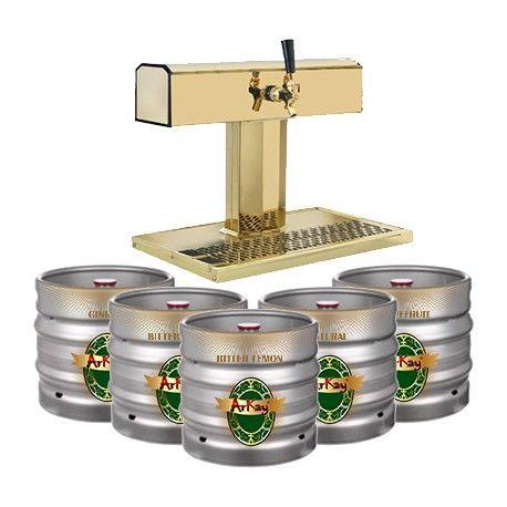 Returnable Kegs Rentals plus ArKay NA Beer Draft Dispenser http://www.arkaymaltbeverages.com/home/49-returnable-keg-rentals.html