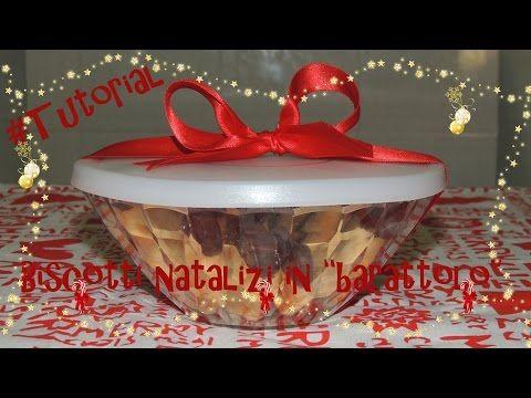 """#Tutorial - DIY - Biscotti natalizi in """"barattolo"""""""