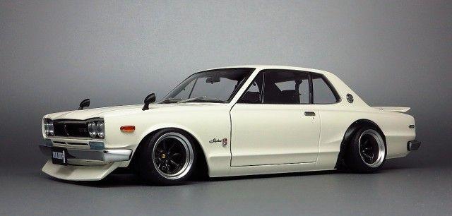 1:18 Nissan Skyline hakosuka custom 05