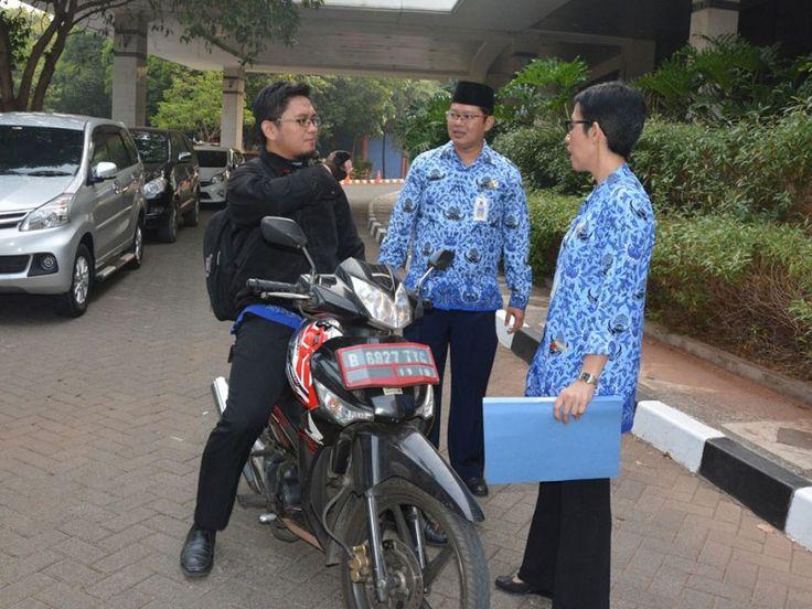 Pengunjung kantor Wali Kota ikut ditanyai petugas