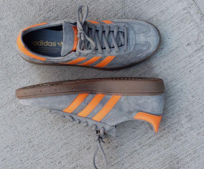 adidas Originals Spezial   Grey & Orange