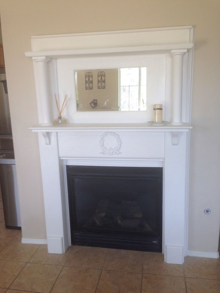 Painted My 1940 S Fireplace Mantel My Creations