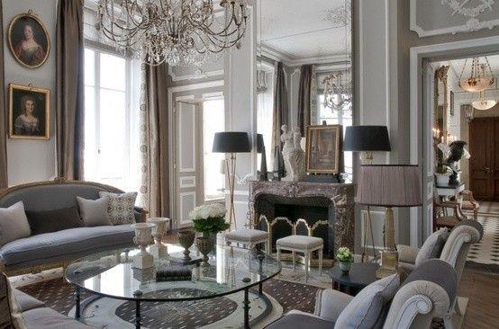 La scelta dei quadri nello stile parigino