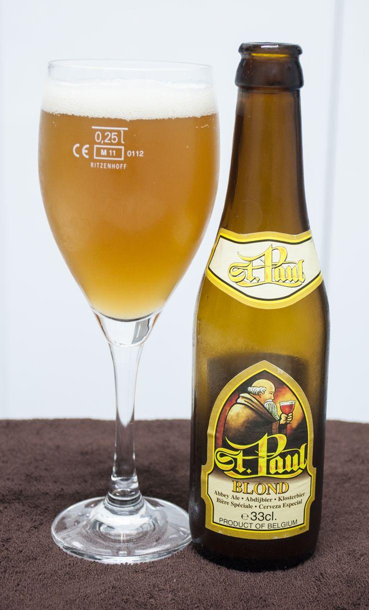 St. Paul Blond. Belgian Ale. 5.3º