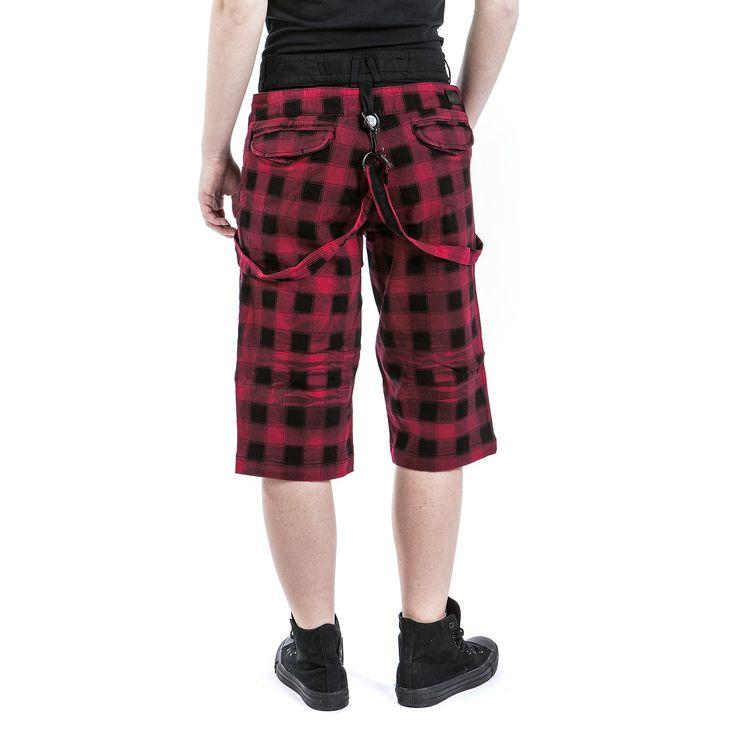 Rock Chain Shorts - Shorts by Black Premium by EMP
