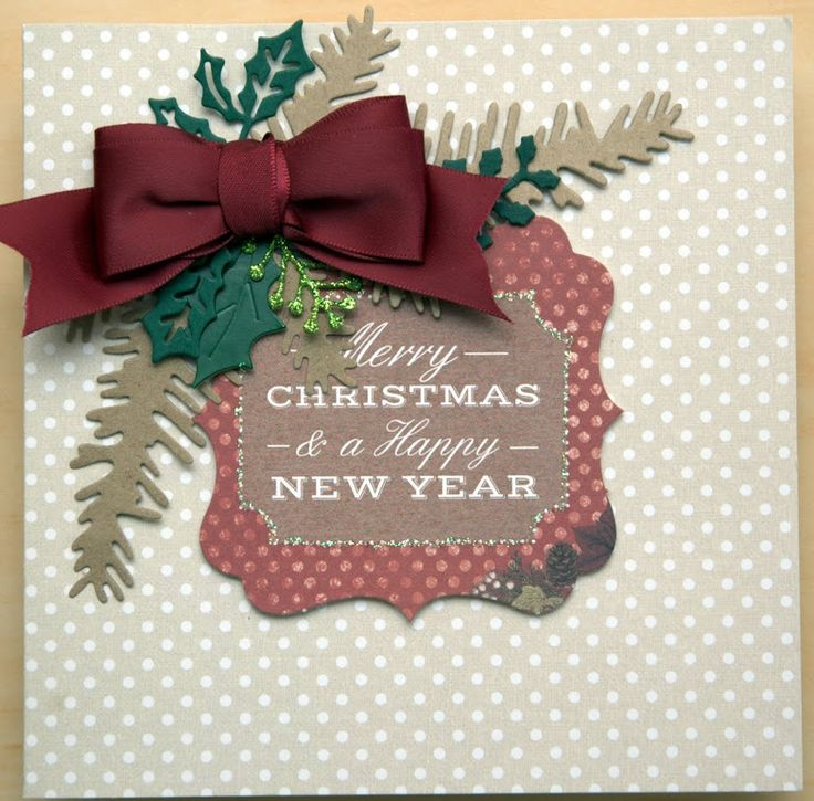 Simple card using craftwork card and topper , finished with some die cuts , bow and glitter glue.