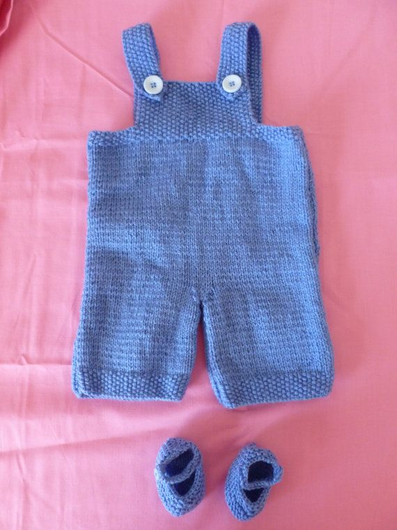 Baby Boy Dungarees Knitting Pattern : 92 best ideas about Crochet and knit baby clothes on Pinterest Rompers, Cro...