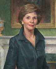 Laura Bush was the 1st presidential spouse to deliver the White House weekly address. First Lady - Laura Bush | C-SPAN First Ladies: Influence & Image
