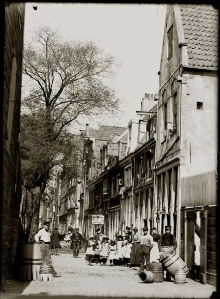 Bickersgracht 44-60, Amsterdam, 1893, by Jacob Olie