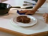 Picture of Pan-Seared Rib-Eye Recipe: Alton Brown, Steaks Recipes, Pan Seared Steaks, Pan Seared Ribs Ey, Ribs Eye, Cooking Steaks, Cast Irons, Food Network Recipes, Irons Grill