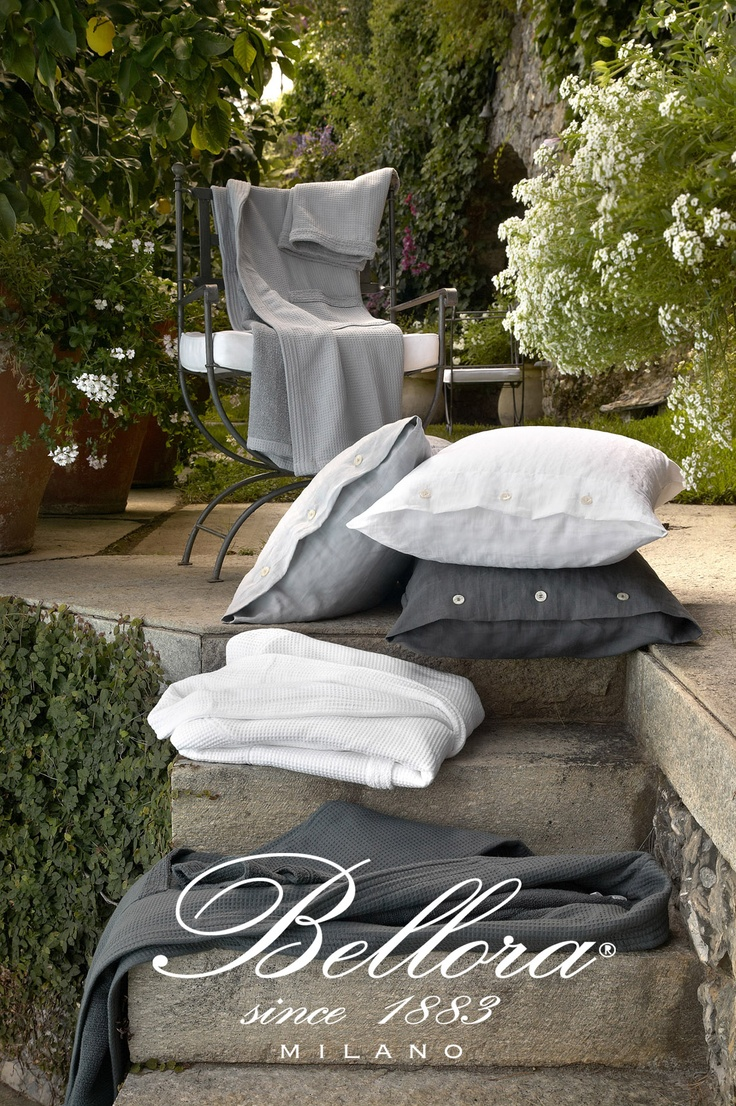 Pure linen Spring Summer Collection 2012 by #Bellora  www.bellora1883.com