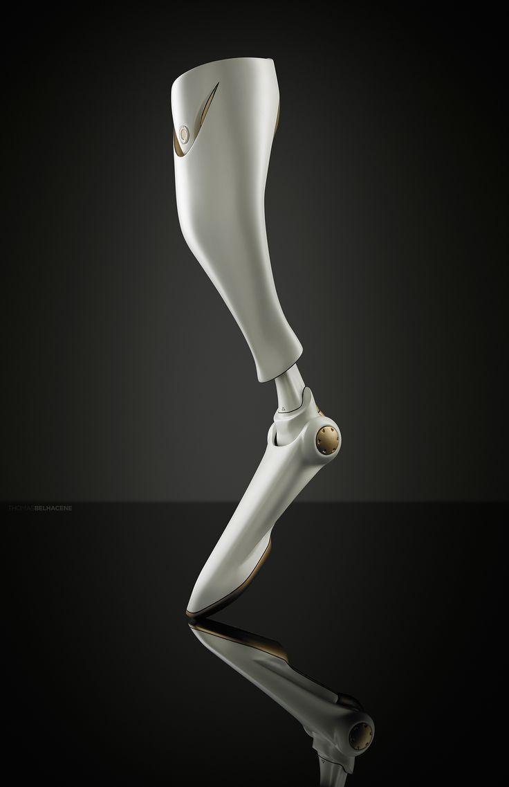 SOLEIS Prosthetic Leg on Behance   Robotics* Prosthesis in ...