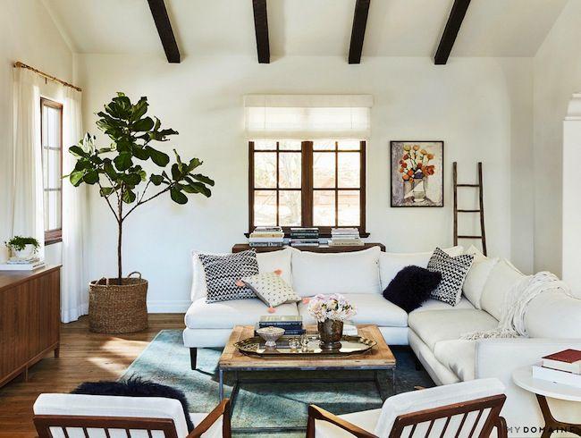 All white CA home