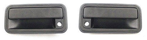 Best price on Front Outside Door Handle Black Pair Set Both Fits 95 - 98 Chevrolet GMC Silverado Sierra Truck 95-99 Suburban Tahoe Yukon Escalade Driver and Passenger //   See details here: http://automotiveside.com/product/front-outside-door-handle-black-pair-set-both-fits-95-98-chevrolet-gmc-silverado-sierra-truck-95-99-suburban-tahoe-yukon-escalade-driver-and-passenger/ //  Truly a bargain for the inexpensive Front Outside Door Handle Black Pair Set Both Fits 95 - 98 Chevrolet GMC…