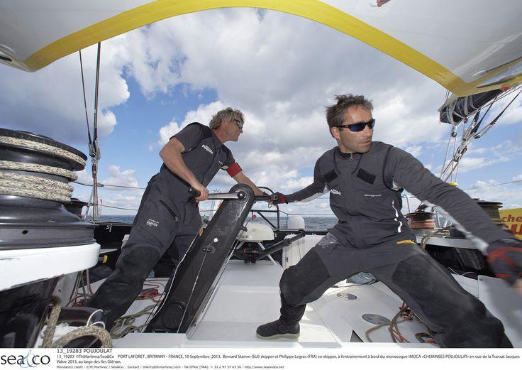 En route pour la #TJV13 ! #IMOCA #Class40 #Multi50 #MOD70 #Sail #LeHavre   www.scanvoile.com