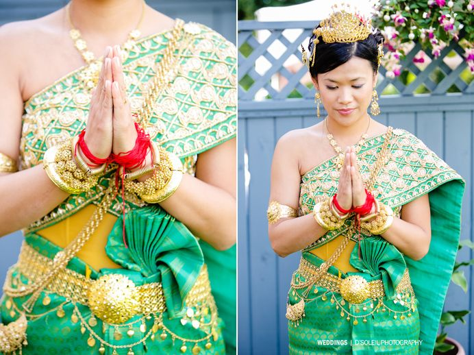 A cambodian wedding celebration serey marcus for Khmer dress for wedding party