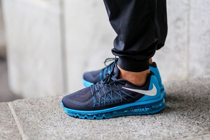 Nike Air Max 2015 Grey And Blue