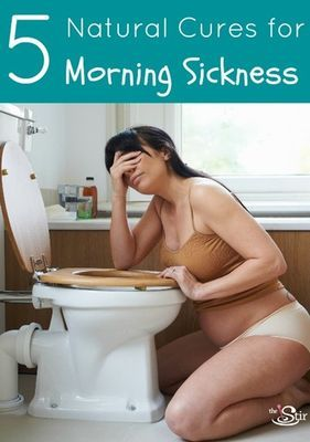 5 Natural Cures for Morning Sickness