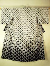 Japanese Robe, traditional vintage Japanese kimono clothing