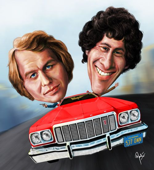 Starsky and Hutch by crueniaone on DeviantArt.         For more great pins go to @KaseyBelleFox