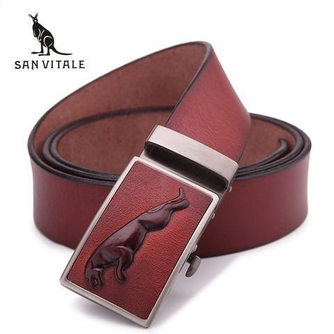 Mens Leather Belts – RealMenStuff