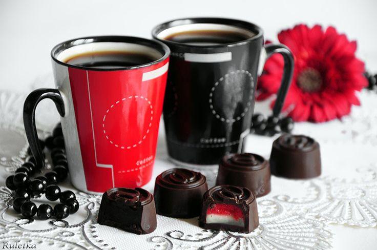 Дуэт. Шоколадные конфеты Чувственность.. Рецепт c фото от chef Ruletka 18 апреля 2013 на koolinar.ru