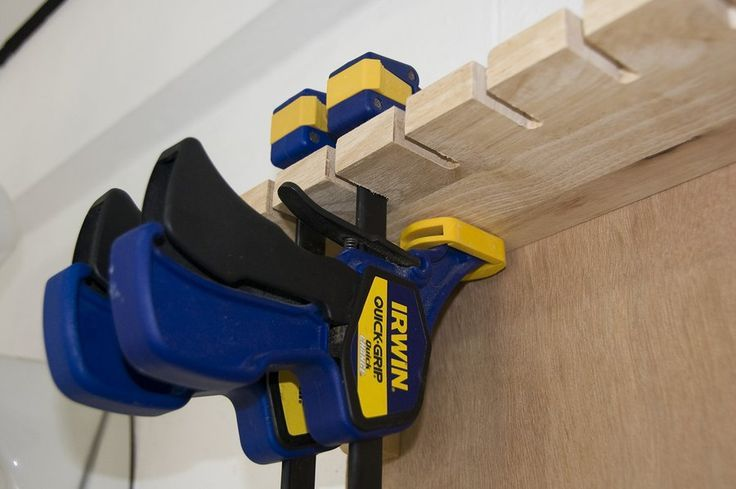 Store clamp storage.  Learn even more at the image link More info @  http://lumberjocks.com/projects/15387