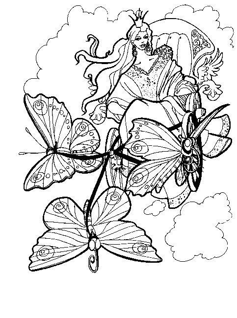 Kids Drawing Books Flowers Butterflies Dragonflies