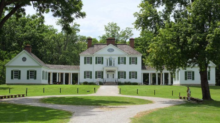 Harman Blennerhassett built his mansion on this island in the Ohio River in 1798. It included a stunning 7,000 square feet.