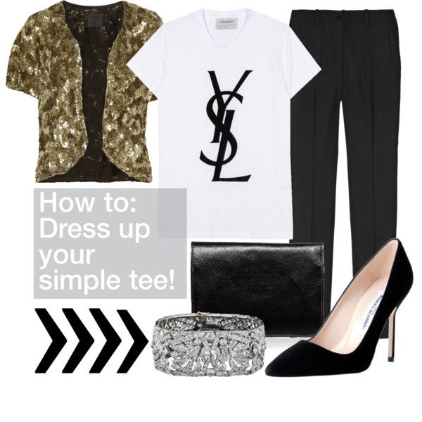 This YSL tee, as well as the CC Chanel tee are on my DIY list and I definitely NEED this sequin jacket!!