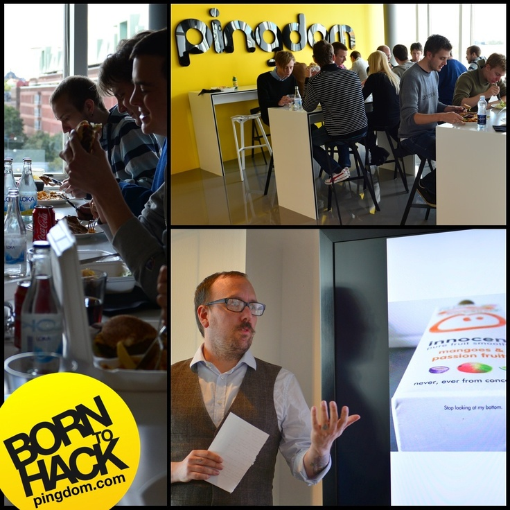 We had a great time today as the Pingdom team got together for lunch and some presentations. Learning new things from colleagues and enjoying good food is always welcome :)