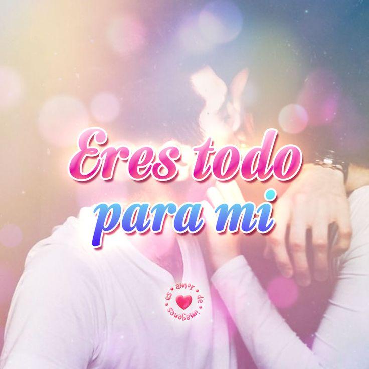 bonito mensaje de amor corto con imagen de pareja besándose