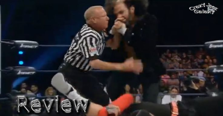 IMPACT ON POP JUNE 14 2016 MATT HARDY BITES EARL HEBNER HAND REVIEW TNA ...