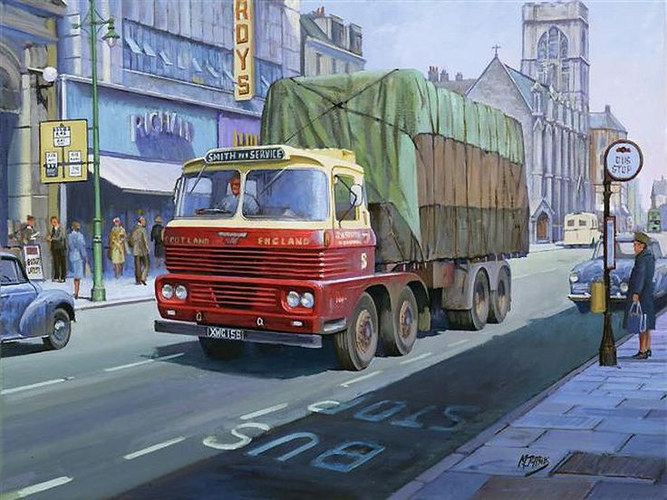 Scammell Routeman MkII - GB